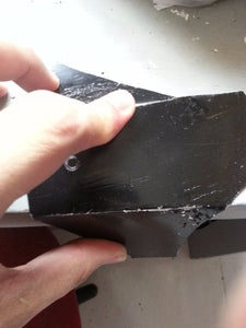 Draw Your Template on the Sheet Metal and Cut It