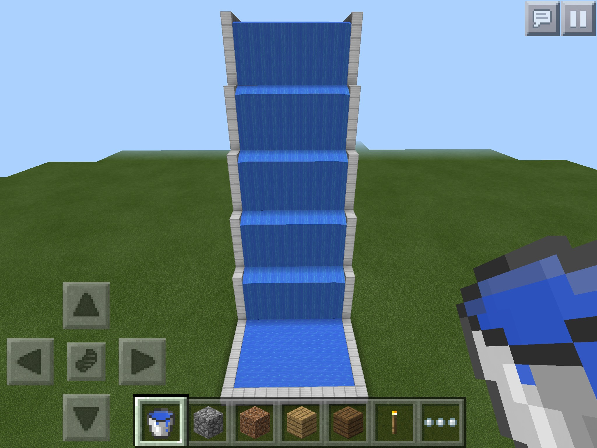 Picture of Awesome Minecraft Waterslide