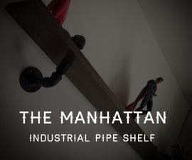 The Manhattan Industrial Pipe Shelf