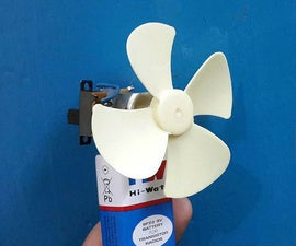 How to Make a 9V Handy Battery Fan