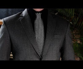 How to Make a Chainmail Tie