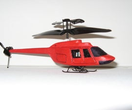 Bell Jetranger Scale Body For Silverlit PicooZ Micro-RC-Helicopter
