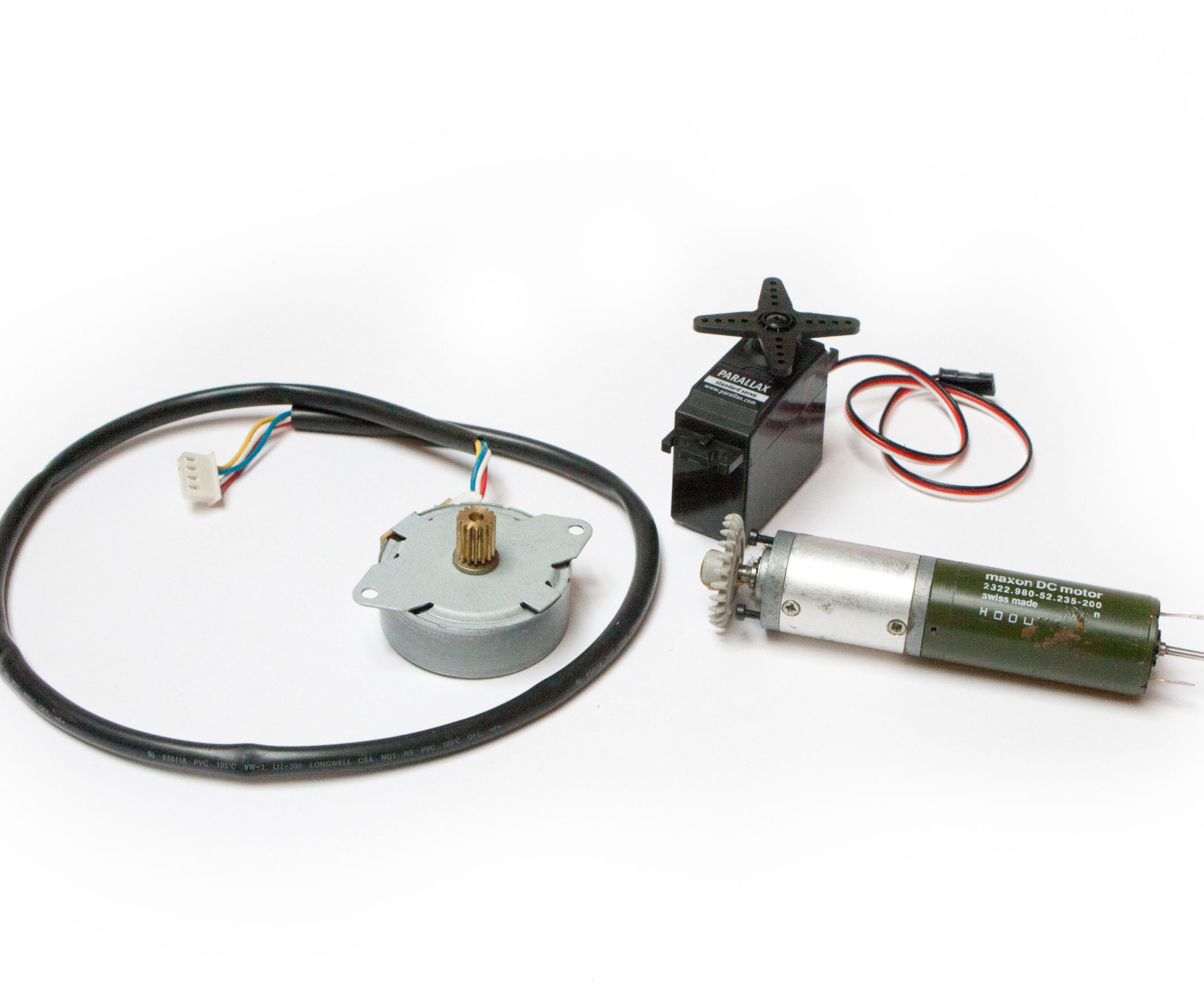 How To Motors 10 Steps With Pictures Dc And Stepper Used As Actuators
