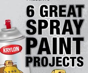 Krylon Presents 6 Great Spray Paint Projects