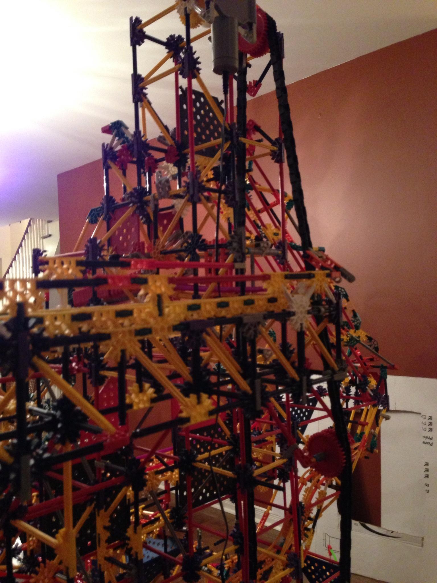Picture of Mount Olympus - a K'nex Ball Machine