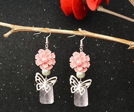 How to Make Fancy Resin Flower Earrings Within 5 Minutes