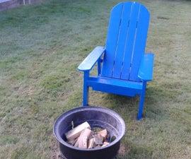 Adirondack Style Chair (pallet wood)