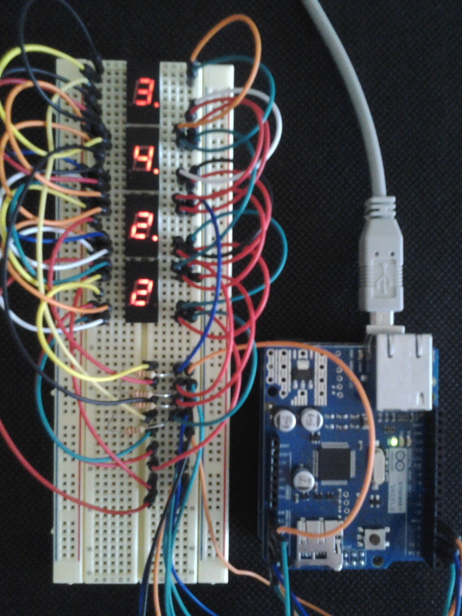 Picture of Charlieplexing 7-segment Displays