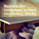 DIY Replaceable sandpapers for Sanding blocks