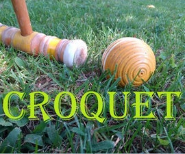 To Play Croquet