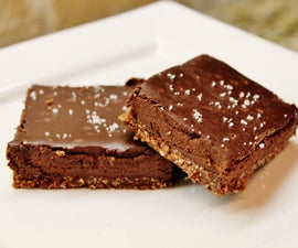 Sweet and Salty Bars (gluten free)