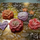 Ombre Flower Sculptures!