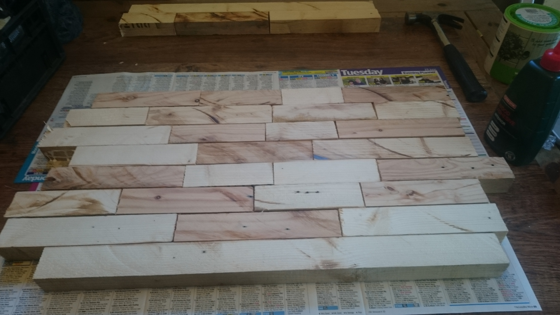 Picture of Step 2 – Gluing & Clamping