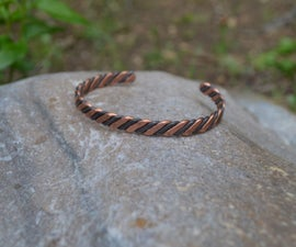 Hardware Store Steel and Copper Bracelet