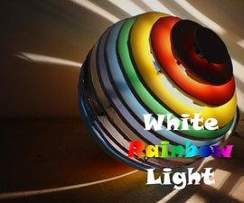 White Rainbow Light
