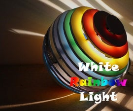 White Rainbow Light