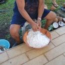 Coconut Shredding Tool