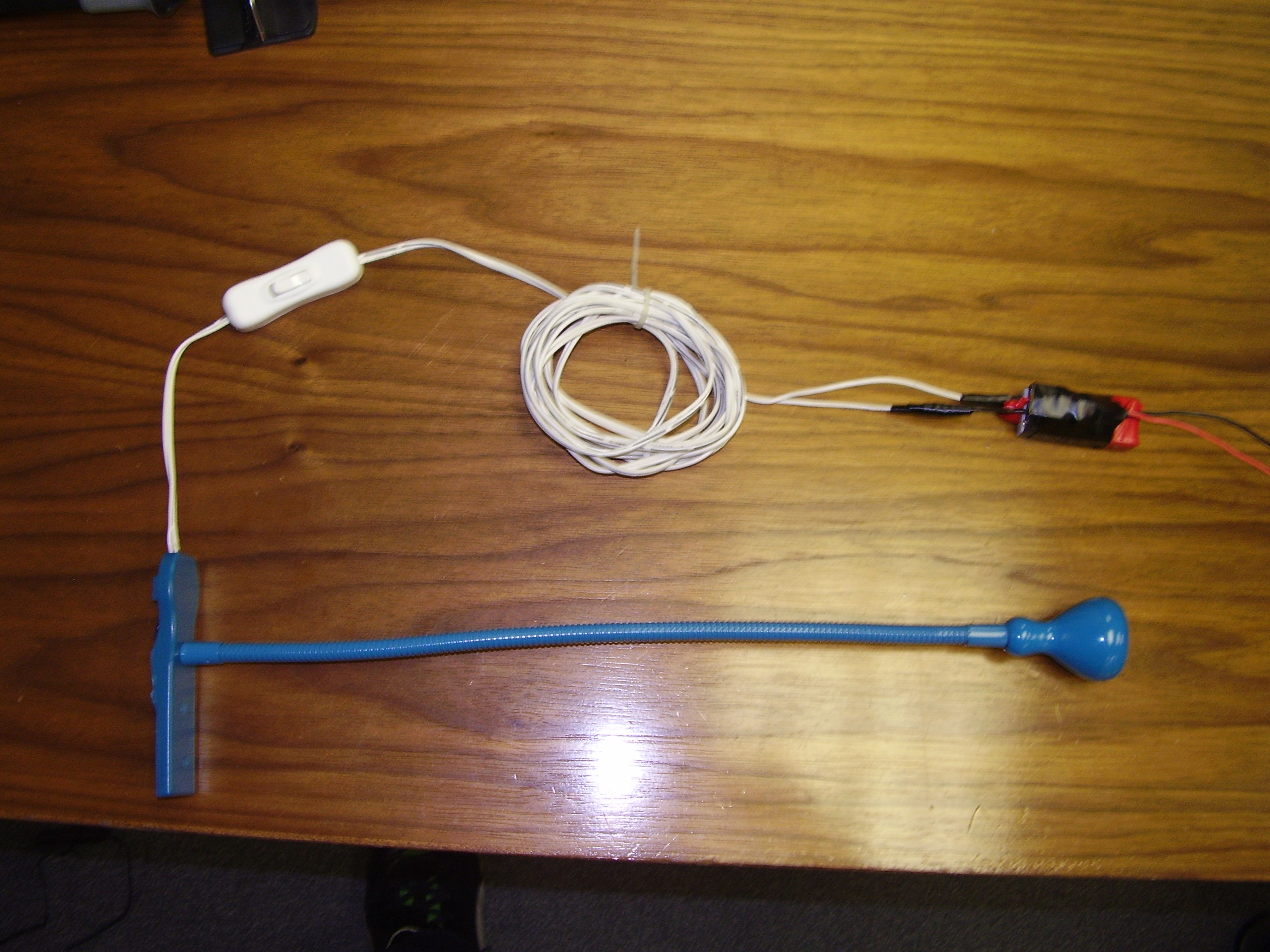 Picture of Ikea Jansjo Lamp 12 Volt Hack