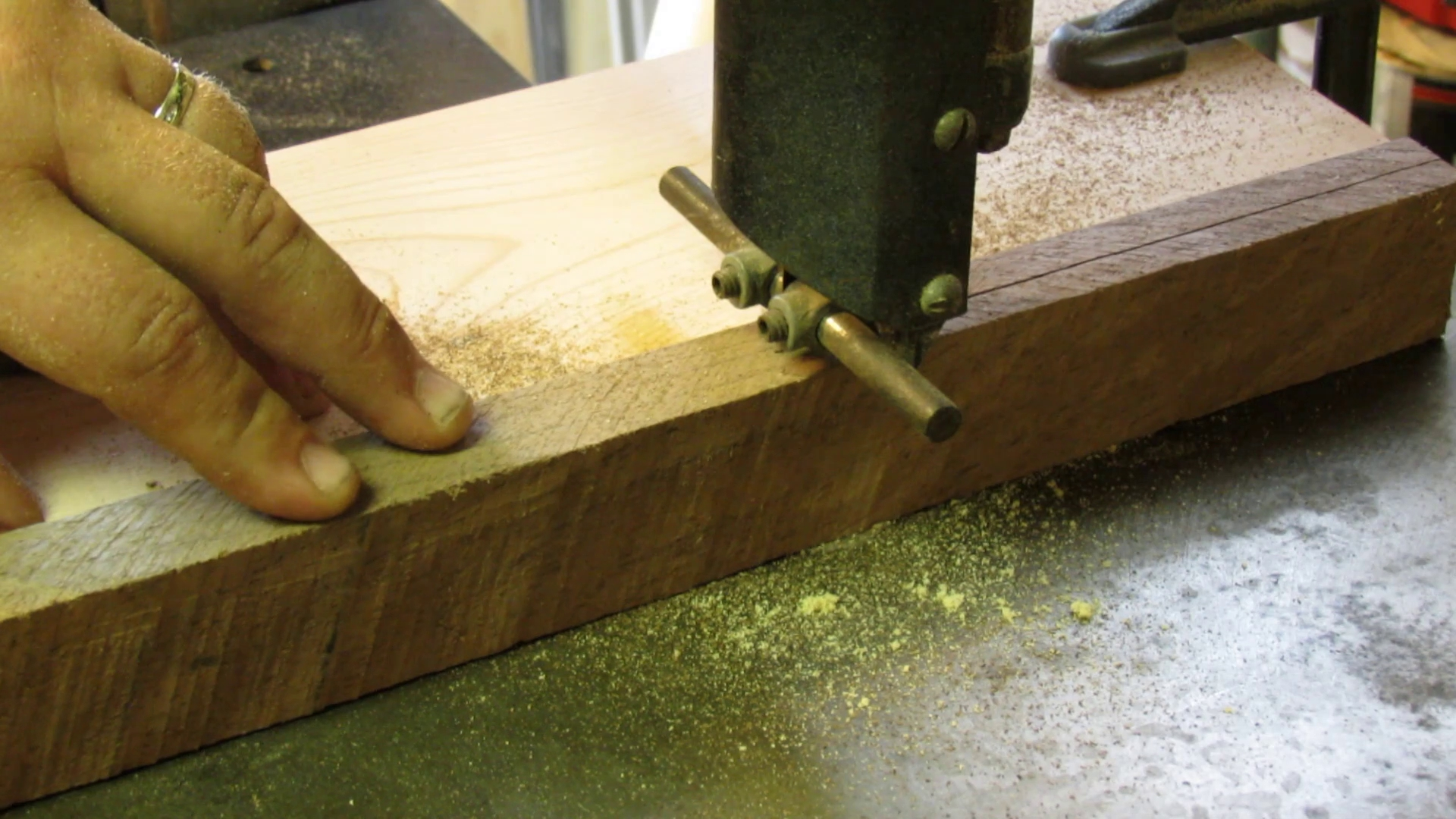 Picture of Cutting the Wood to Size