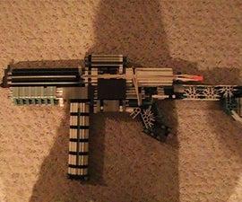 """XFN Snowflak3"" Knex Rifle"