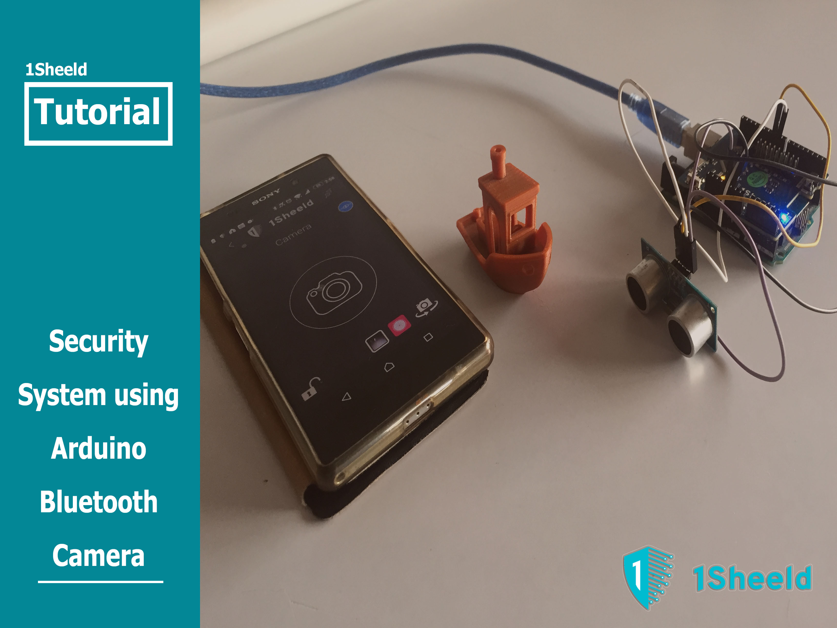 Picture of Security System Using Arduino Bluetooth Camera