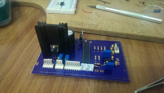 STILL DAY 2 - Making a PCB