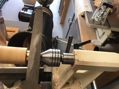 Using a Course, Medium and Fine File on the Brass Fitting