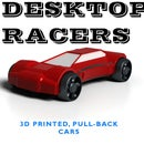 Desktop Racers - 3D Printed Pull-back Racers