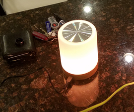 Globally Synchronized Wifi Touch Lights