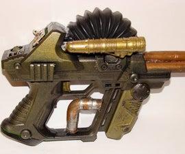 my first steampunk gun!