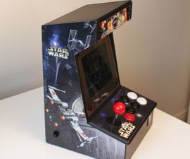 Bartop Mini Retro Arcade - Raspberry Pi and Customised Icade