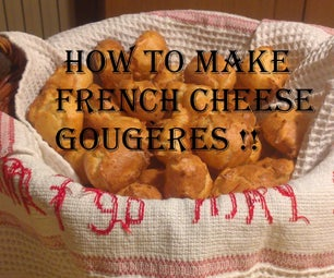 How to Make French Cheese Gougères
