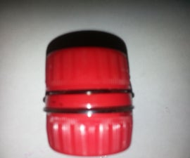 Soda Bottle Cap Container