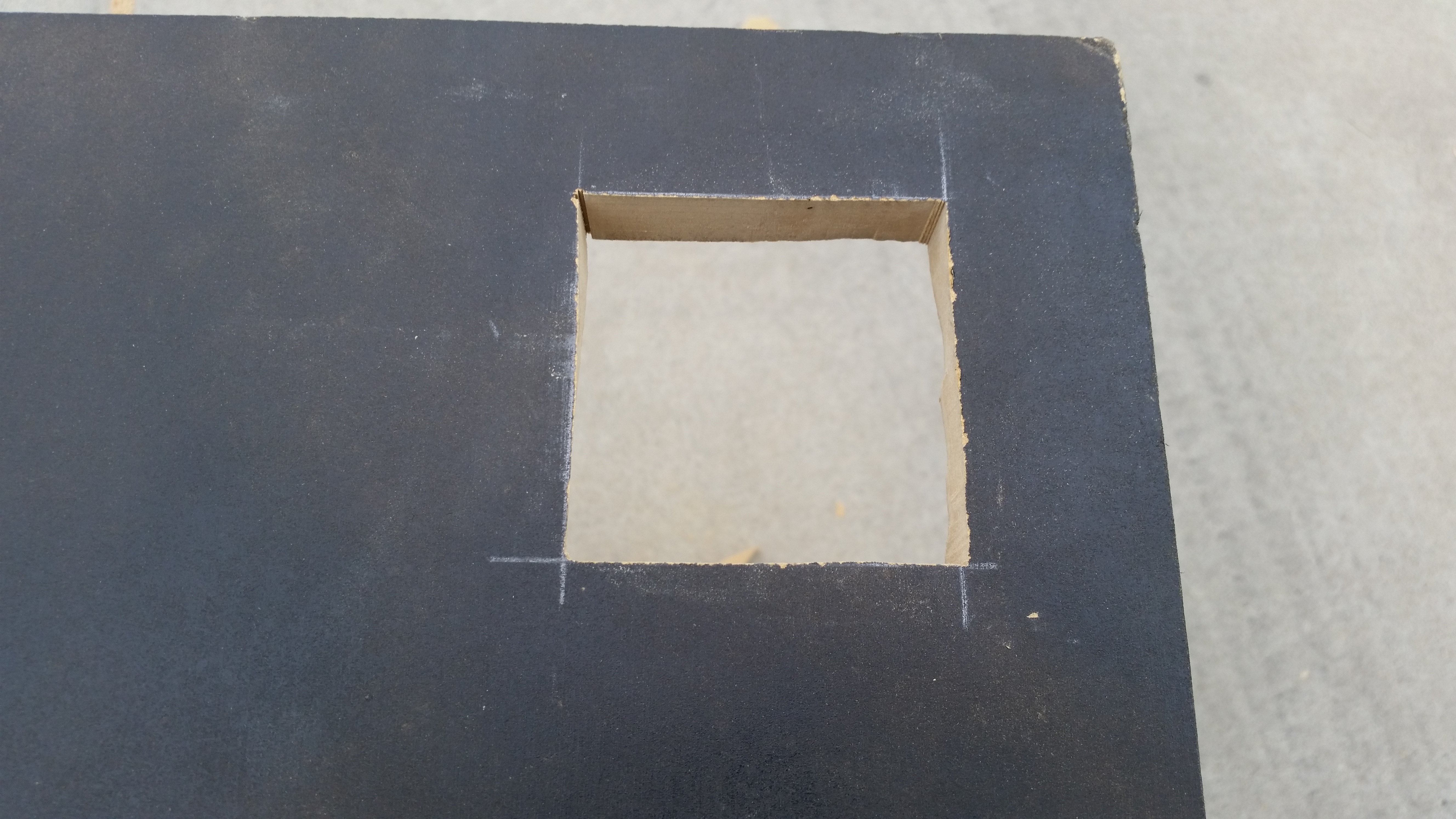 Picture of Cut the Hole for Your Power