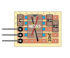 555 astable module