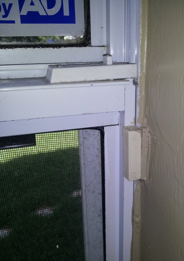 Open House Window While Alarm Still Working (No Bypass)