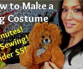 Super Easy *No Sew* Dog Costume!