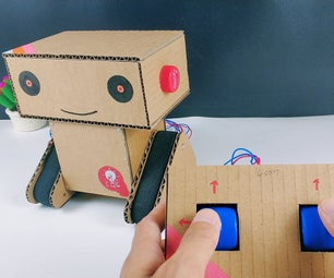Making a Crawler Robot From Cardboard