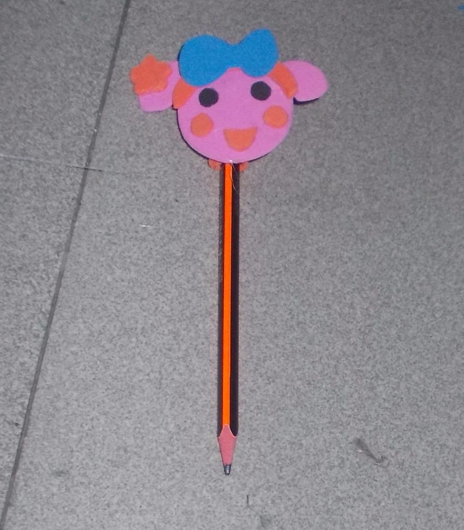 Picture of Miss La Sen Foam Pencil Topper