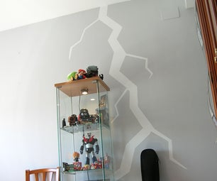 Lightning Bolt in a Wall