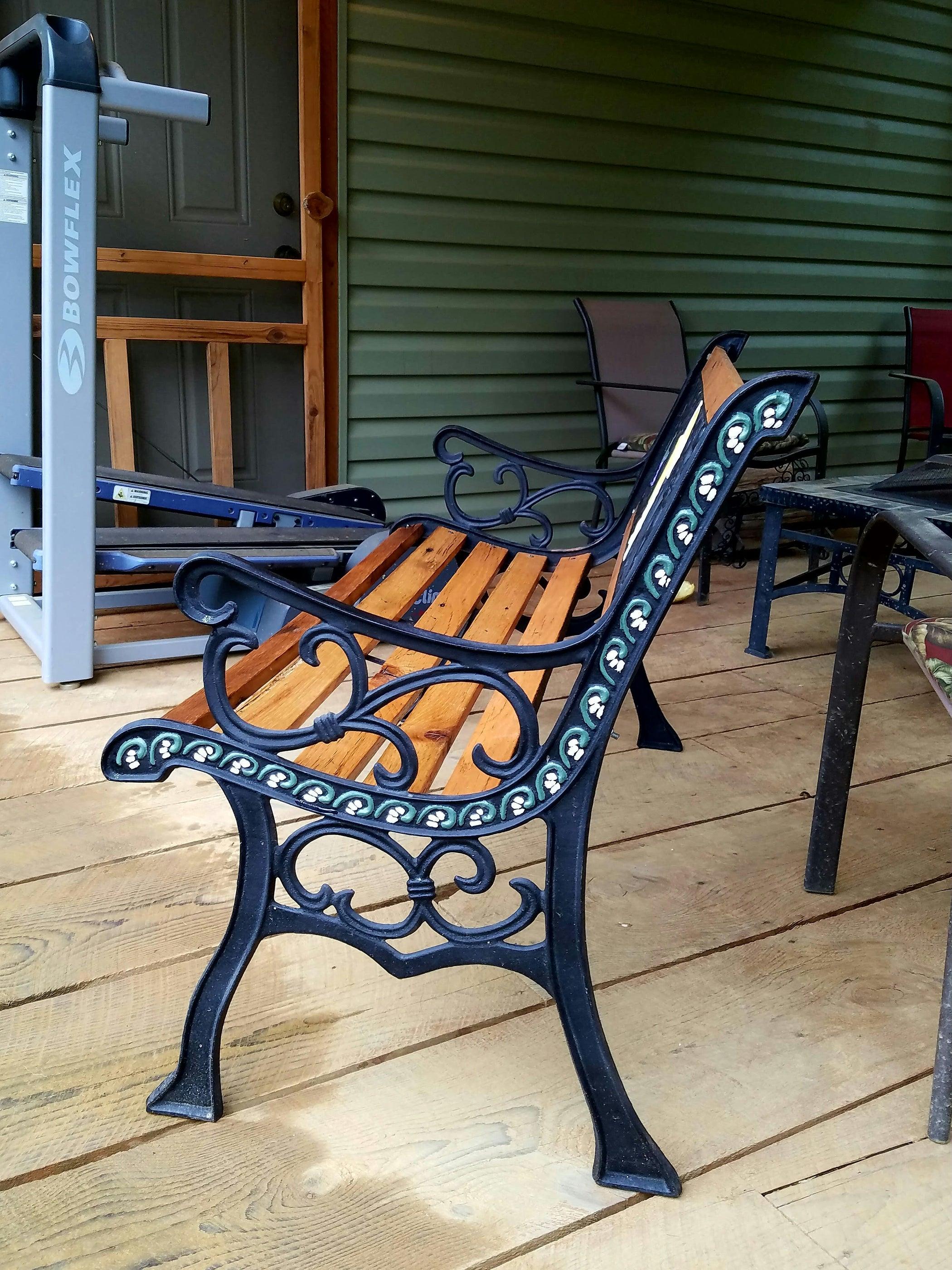 Garden Bench Restoration