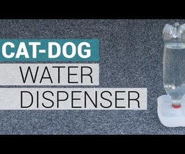 Dog, Cat and PETS Water Dispenser - Automatic
