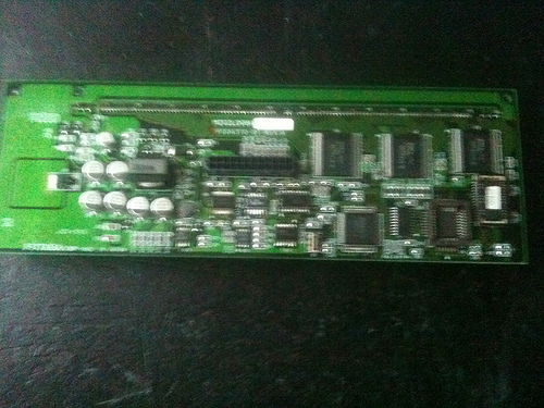 Picture of how to drive NCR 5972 futaba M202DL08A over serial please help.