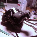 Home made DSLR Rear LCD Viewfinder for shooting Video