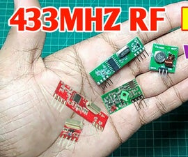 RF Module 433MHZ   Make Receiver and Transmitter From 433MHZ RF Module Without Any Microcontroller