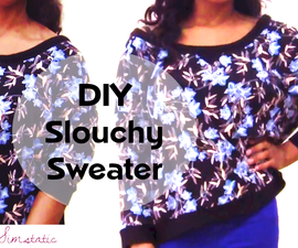 DIY Oversized (Slouchy Winter Jumper) - Video