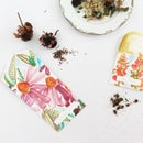 Watercolor Seed Packets
