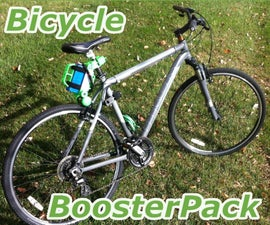 Bicycle BoosterPack: A 3D Printed Portable Electric Assist