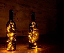 Festive bottles