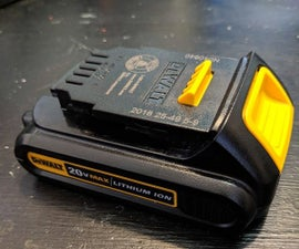 Dewalt Battery Pack Mod